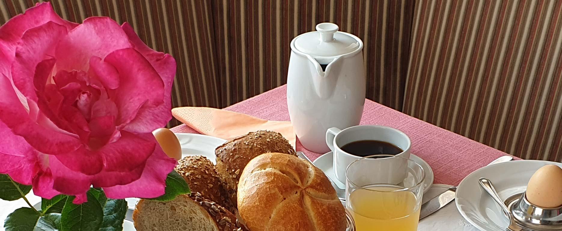 Prima colazione seducente